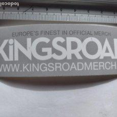 Pegatinas de colección: PEGATINA - KINGS ROAD MERCH . - STICKER. Lote 252081395