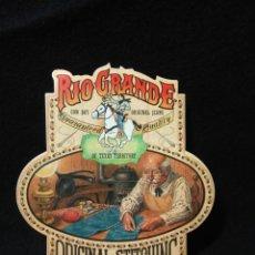 Pegatinas de colección: PEGATINA AÑOS 80 RIO GRANDE ,ORIGINAL DE EPOCA ,MUY BUEN ESTADO. Lote 253615965