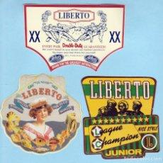 Pegatinas de colección: LOTE PEGATINAS JEANS / VAQUEROS - LIBERTO. Lote 253652605
