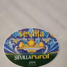 Pegatinas de colección: PEGATINA SEVILLA RURAL. Lote 254455865