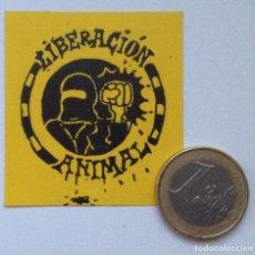 Adesivi di collezione: LIBERACIÓN ANIMAL PEGATINA. Lote 255010005