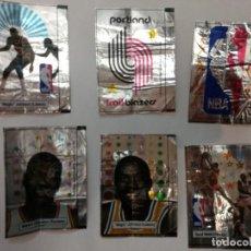 Pegatinas de colección: LOTE DE 6 PEGATINAS NBA JOHNSON. Lote 255451620