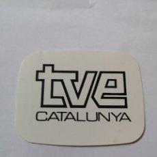 Pegatinas de colección: T0. PE076. PEGATINA. TVE CATALUNYA. Lote 261833560