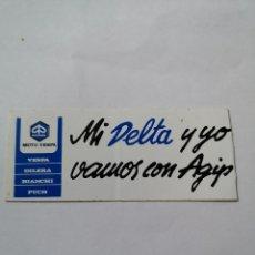 Pegatinas de colección: T0. PE080. PEGATINA. MOTO VESPA. Lote 261835630
