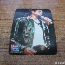 Pegatinas de colección: PEGATINA MICHAEL JACKSON TOUR 1988 CON PEPSI. Lote 263224195