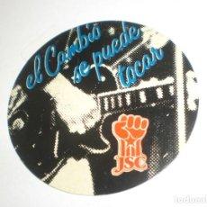 Pegatinas de colección: PEGATINA. ADHESIVO. JSC - PSC -PSOE ELECCIONES GENERALES 28 OCTUBRE 1982 (BUEN ESTADO). Lote 263688855