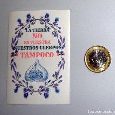 Pegatinas de colección: PEGATINA POLÍTICA - FEMINISMO LIBERTARIO. ANARQUISMO ANARQUÍA EXTREMA IZQUIERDA. Lote 263707635