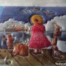 Pegatinas de colección: PEGATINA RIBBON PENCIL GREEN HILLS NUEVA. Lote 264359874