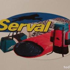 Pegatinas de colección: PEGATINA SERVAL. Lote 266911744