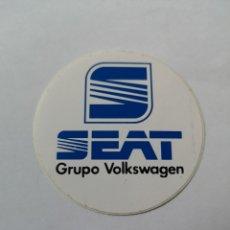 Pegatinas de colección: T0. PE041. PEGATINA. SEAT GRUPO VOLKSWAGEN. Lote 267095369