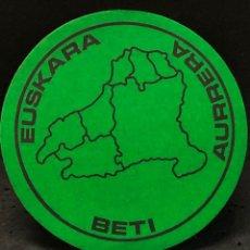 Autocolantes de coleção: PEGATINA EUSKARAZ BETI POLITICA EUSKADI. Lote 267799714