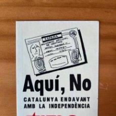 Autocolantes de coleção: PEGATINA AQUÍ, NO JERC RESERVADA BERNARDO. Lote 268937659