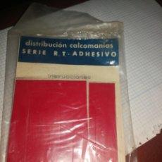 Pegatinas de colección: 2 LIBRILLOS CALCO MANÍAS. Lote 271553728