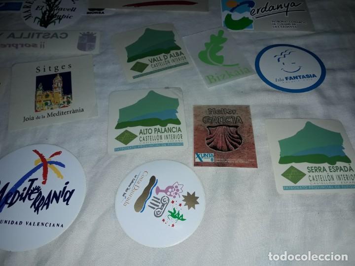 Pegatinas de colección: Lote de 18 pegatinas ciudades Españolas - Foto 4 - 274638973