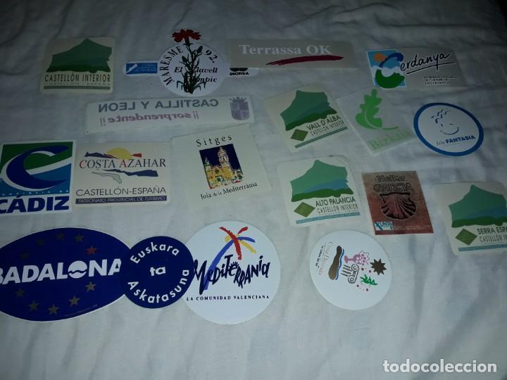 Pegatinas de colección: Lote de 18 pegatinas ciudades Españolas - Foto 6 - 274638973
