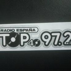 Autocollants de collection: PEGATINA RADIO TOP ESPAÑA. Lote 275594393