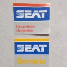 Autocolantes de coleção: PEGATINAS SEAT.MUY BIEN,AÑOS EN ALBUM.ADHESIVOS VINTAGE SEAT. Lote 275747593