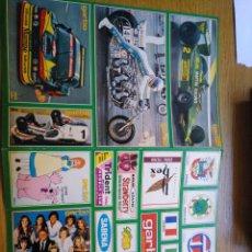 Autocollants de collection: LOTE DE 58 PEGATINAS GARBO SIN PEGAR.. Lote 278348793