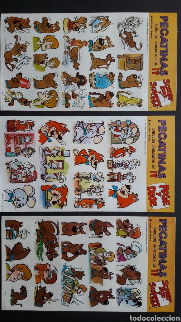 Pegatinas de colección: 10 láminas pegatinas hanna barbera 1985 - Foto 2 - 278690728
