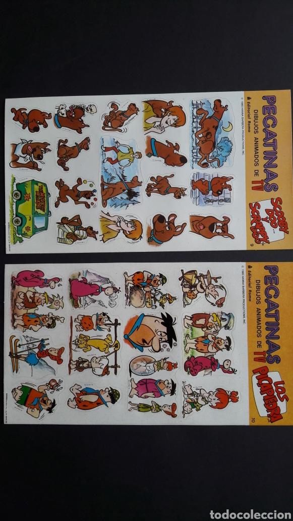 Pegatinas de colección: 10 láminas pegatinas hanna barbera 1985 - Foto 4 - 278690728