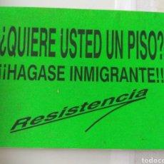 Adesivi di collezione: PEGATINA POLÍTICA DERECHA. Lote 281890888