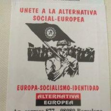 Adesivi di collezione: PEGATINA POLÍTICA DERECHA. Lote 282055093