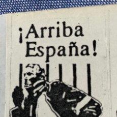Autocolantes de coleção: ANTIGUA PEGATINA POLITICA TRANSICIÓN,EXTREMA DERECHA,FRENTE DE LA JUVENTUD,FRENTE NACIONAL DE LA JUV. Lote 283298883