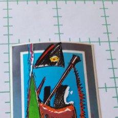 Adesivi di collezione: PEGATINA SELLA 90 FEVE EL TREN DEL NORTE. Lote 285296408