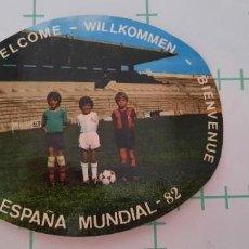Adesivi di collezione: PEGATINA BIENVENIDOS ESPAÑA MUNDIAL 82. Lote 286426908