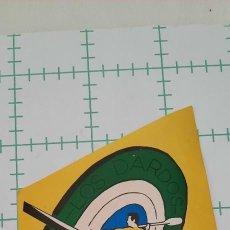 Adesivi di collezione: PEGATINA LOS DARDOS ANTROMERO GOZON PIRAGUISMO. Lote 286480883