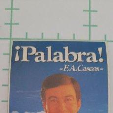 Adesivi di collezione: PEGATINA PARTIDO POPULAR ALVAREZ CASCOS. Lote 286689393