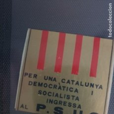 Adesivi di collezione: RARA PEGATINA POLÍTICA TRANSICIÓN UJM, PTE, MC, ETC. Lote 286773978