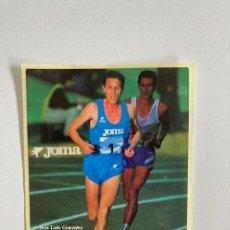 Pegatinas de colección: PEGATINA JOMA JOSÉ LUIS GONZALEZ 1990. Lote 287543933