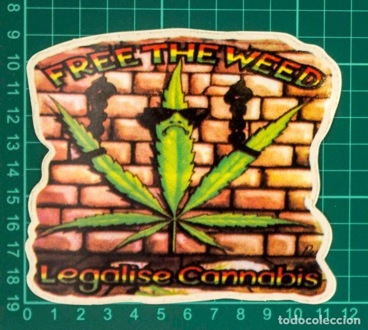 Pegatinas de colección: Pegatina Stickers rastafari de los años 80 - Foto 2 - 287675363