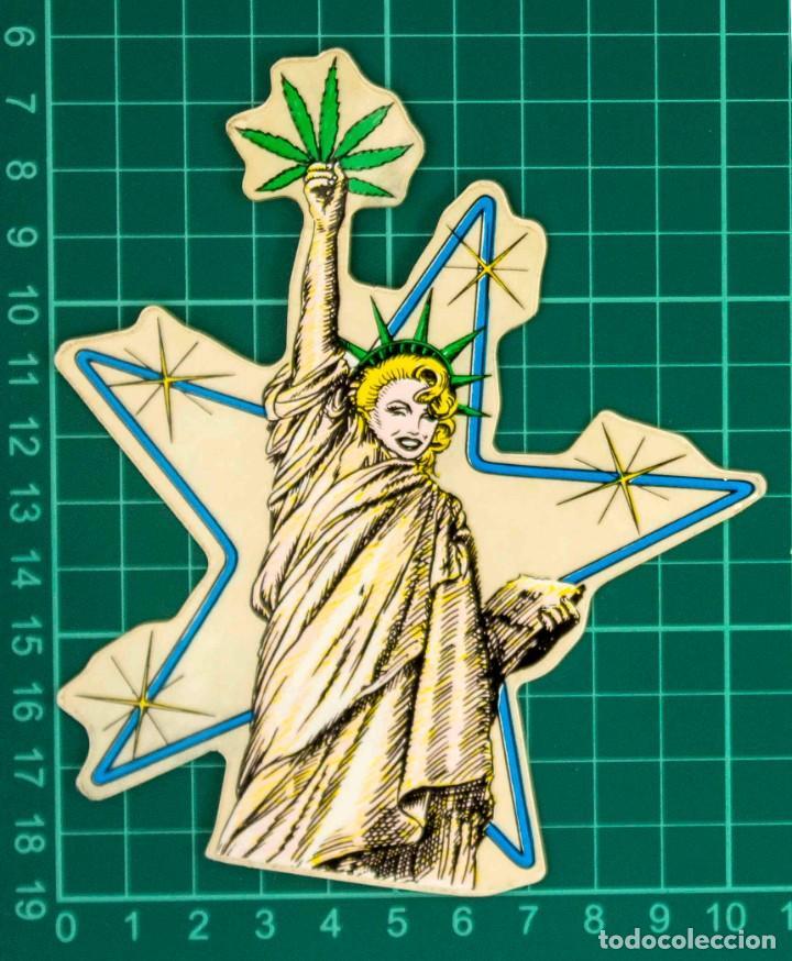 Pegatinas de colección: Pegatina Stickers rastafari de los años 80 - Foto 2 - 287675723