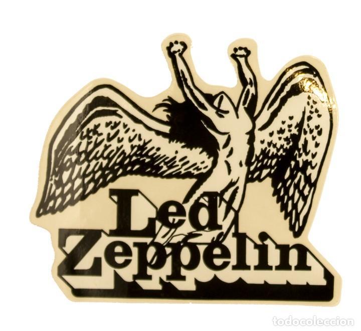 PEGATINA STICKERS MUSIC DE LOS AÑOS 80,90 - LED ZEPPELIN (Coleccionismos - Pegatinas)