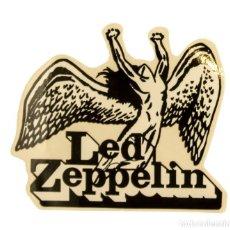 Pegatinas de colección: PEGATINA STICKERS MUSIC DE LOS AÑOS 80,90 - LED ZEPPELIN. Lote 287996813