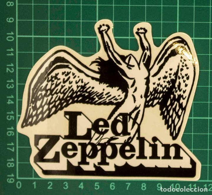 Pegatinas de colección: Pegatina Stickers music de los años 80,90 - Led Zeppelin - Foto 2 - 287996813