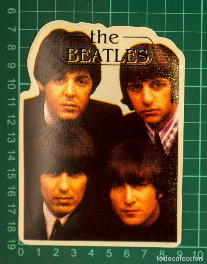 Pegatinas de colección: Pegatina Stickers music de los años 80,90 - The beatles - Foto 2 - 287997343