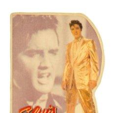 Pegatinas de colección: PEGATINA STICKERS MUSIC DE LOS AÑOS 80,90 - ELVIS - THE KING OF ROCK & ROLL. Lote 287997728