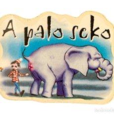 Pegatinas de colección: PEGATINA STICKERS MUSIC DE LOS AÑOS 80,90 - A PALO SECO. Lote 287998503