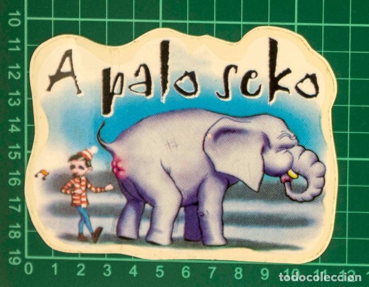 Pegatinas de colección: Pegatina Stickers music de los años 80,90 - A palo seco - Foto 2 - 287998503