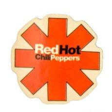Pegatinas de colección: PEGATINA STICKERS MUSIC DE LOS AÑOS 80,90 - RED HOT CHILIPEPPERS. Lote 287998938