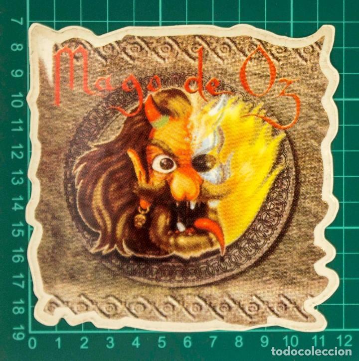 Pegatinas de colección: Pegatina Stickers music de los años 80,90 - Mago de Oz - Foto 2 - 287999248