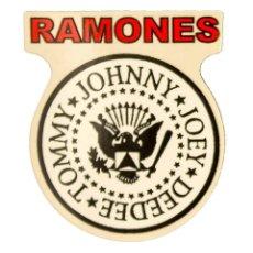 Pegatinas de colección: PEGATINA STICKERS MUSIC DE LOS AÑOS 80,90 - RAMONES. Lote 287999513