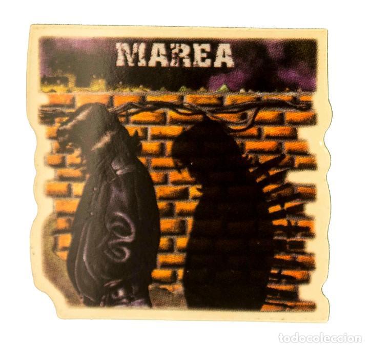 PEGATINA STICKERS MUSIC DE LOS AÑOS 80,90 - MAREA (Coleccionismos - Pegatinas)
