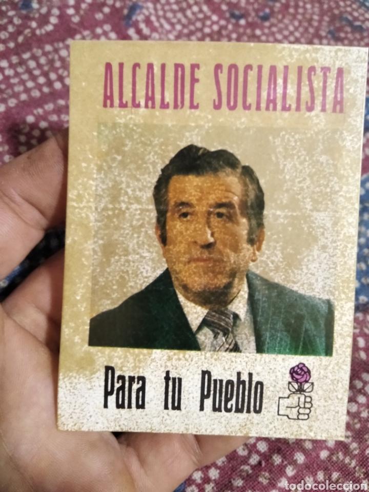 PEGATINA PSOE TRANSICIÓN (Coleccionismos - Pegatinas)