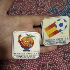 Pegatinas de colección: PEGATINAS BODEGAS CAPEL MUNDIAL 82. Lote 288002468
