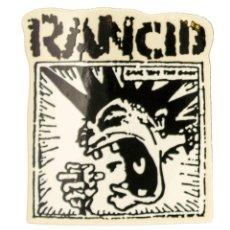 Pegatinas de colección: PEGATINA STICKERS MUSIC DE LOS AÑOS 80,90 - RANCID. Lote 288002618
