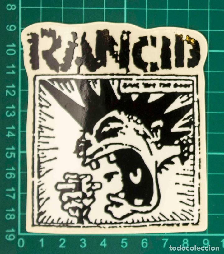 Pegatinas de colección: Pegatina Stickers music de los años 80,90 - Rancid - Foto 2 - 288002618